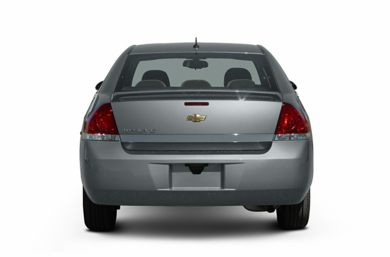 Rear Profile  2006 Chevrolet Impala