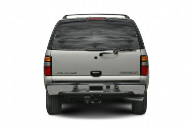 Rear Profile  2006 Chevrolet Suburban 2500