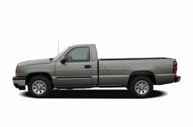 90 Degree Profile 2006 Chevrolet Silverado 1500