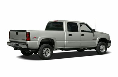 3/4 Rear Glamour  2006 Chevrolet Silverado 1500HD