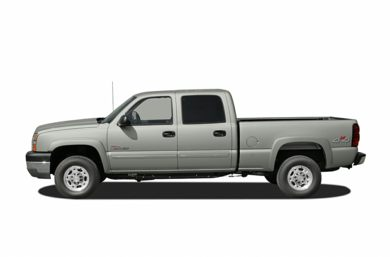 90 Degree Profile 2007 Chevrolet Silverado 3500 Classic