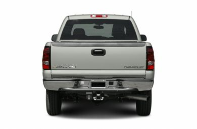 Rear Profile  2007 Chevrolet Silverado 3500 Classic