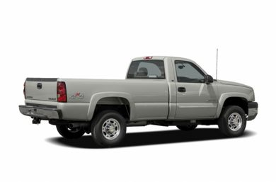 3/4 Rear Glamour  2006 Chevrolet Silverado 2500HD