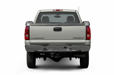 Rear Profile  2006 Chevrolet Silverado 2500HD