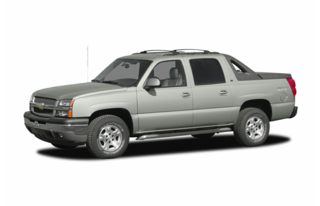 3/4 Front Glamour 2006 Chevrolet Avalanche 2500