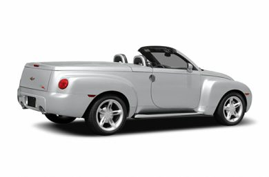 3/4 Rear Glamour  2006 Chevrolet SSR