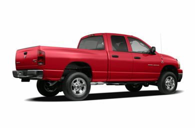 3/4 Rear Glamour  2006 Dodge Ram 2500