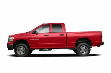 90 Degree Profile 2006 Dodge Ram 2500