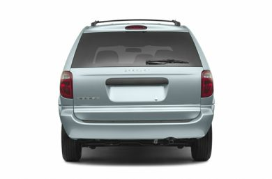 Rear Profile  2006 Dodge Caravan