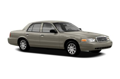 3/4 Front Glamour 2006 Ford Crown Victoria
