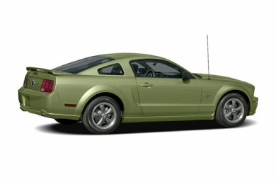 3/4 Rear Glamour  2006 Ford Mustang