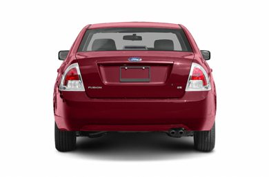 Rear Profile  2006 Ford Fusion