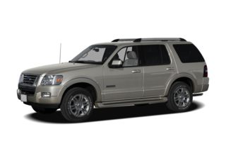 3/4 Front Glamour 2006 Ford Explorer
