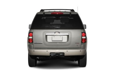 Rear Profile  2006 Ford Explorer