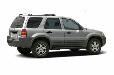 3/4 Rear Glamour  2006 Ford Escape
