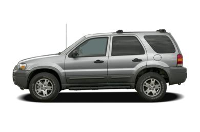 90 Degree Profile 2006 Ford Escape
