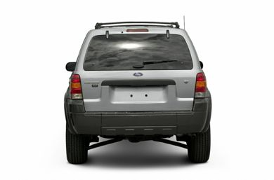Rear Profile  2006 Ford Escape