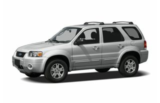 3/4 Front Glamour 2006 Ford Escape