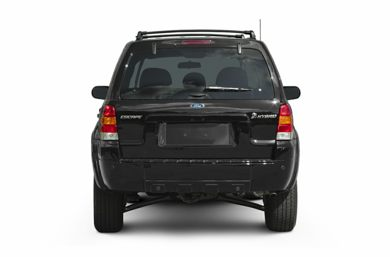 Rear Profile  2006 Ford Escape Hybrid