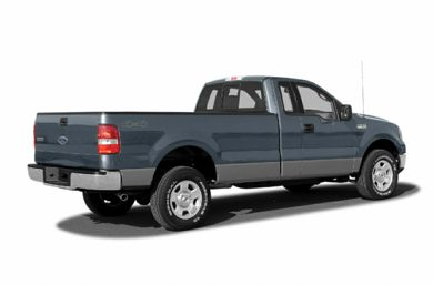 3/4 Rear Glamour  2006 Ford F-150