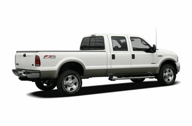 3/4 Rear Glamour  2006 Ford F-350