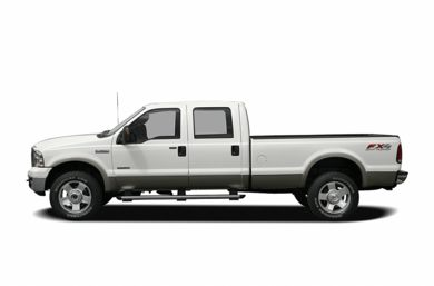 90 Degree Profile 2006 Ford F-350