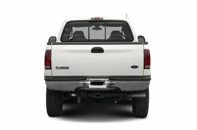Rear Profile  2006 Ford F-350