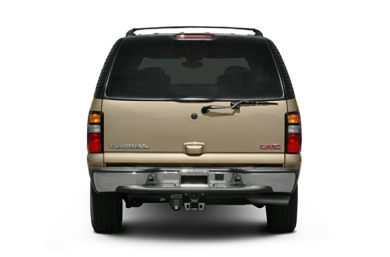 Rear Profile  2006 GMC Yukon XL 1500