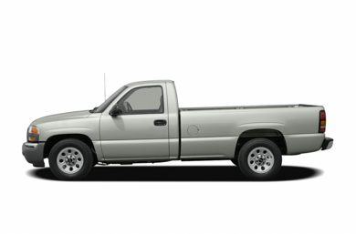 90 Degree Profile 2006 GMC Sierra 1500