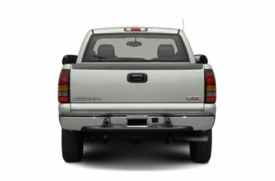 Rear Profile  2006 GMC Sierra 1500