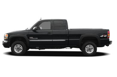 90 Degree Profile 2006 GMC Sierra 3500