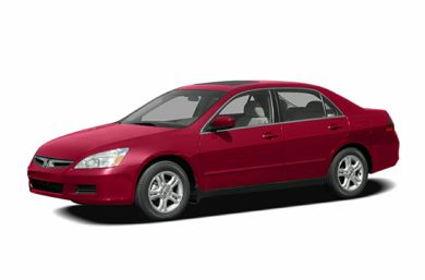 3/4 Front Glamour 2006 Honda Accord