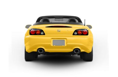 Rear Profile  2006 Honda S2000