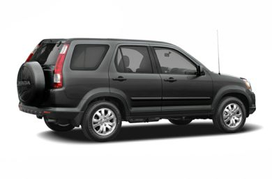 3/4 Rear Glamour  2006 Honda CR-V