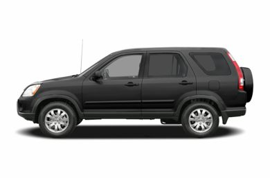 90 Degree Profile 2006 Honda CR-V