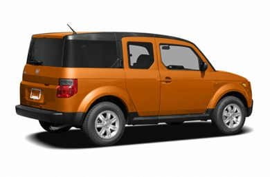 3/4 Rear Glamour  2006 Honda Element
