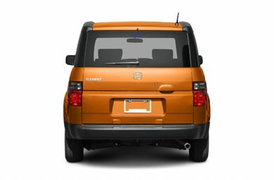 Rear Profile  2006 Honda Element