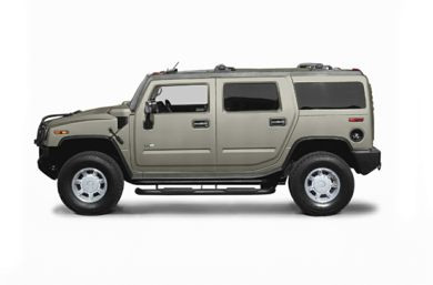 90 Degree Profile 2006 HUMMER H2 SUV