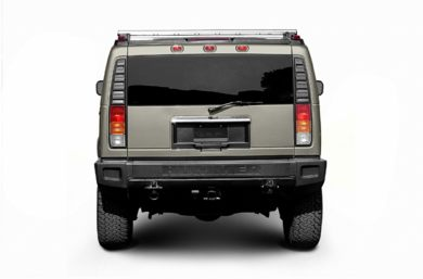 Rear Profile  2006 HUMMER H2 SUV