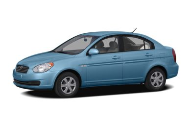 3/4 Front Glamour 2006 Hyundai Accent