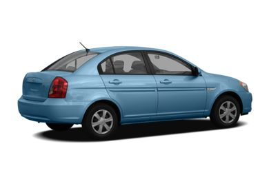 3/4 Rear Glamour  2006 Hyundai Accent