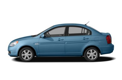 90 Degree Profile 2006 Hyundai Accent