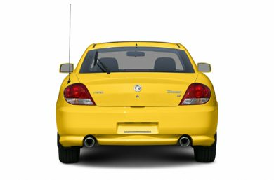 Rear Profile  2006 Hyundai Tiburon