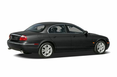 3/4 Rear Glamour  2006 Jaguar S-TYPE