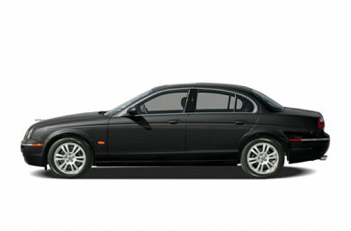 90 Degree Profile 2006 Jaguar S-TYPE