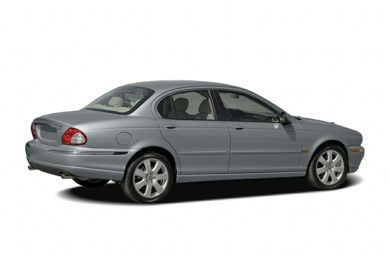 3/4 Rear Glamour  2006 Jaguar X-TYPE