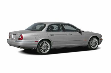 3/4 Rear Glamour  2006 Jaguar XJ