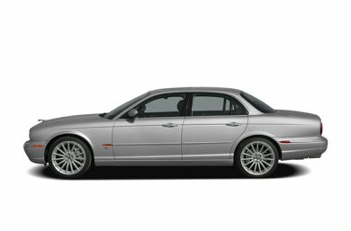 90 Degree Profile 2006 Jaguar XJ