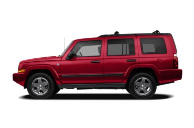 90 Degree Profile 2006 Jeep Commander