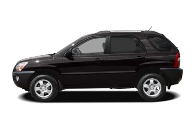 90 Degree Profile 2006 Kia Sportage